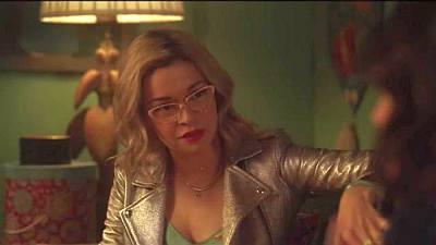 julia chan pepper smith leather moto jacket - katy keene