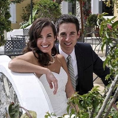 keith carson wife paula wedding photo