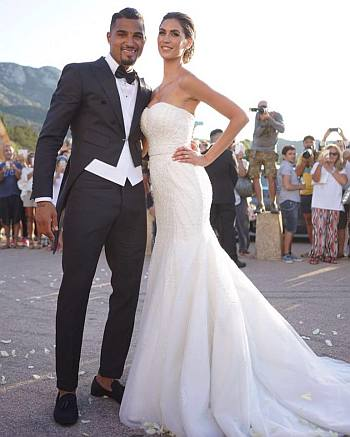 kevin prince boateng wedding wife melissa satta