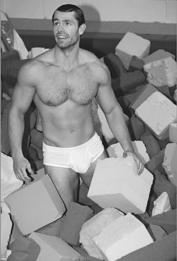 male celebrity underwear - kelvin fletcher white briefs