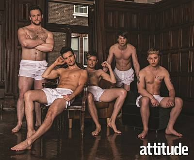 men in boxers - collabro