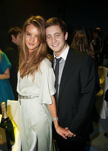 ty wood girlfriend Rosie Huntington-Whiteley ex - 2009 elle style awards