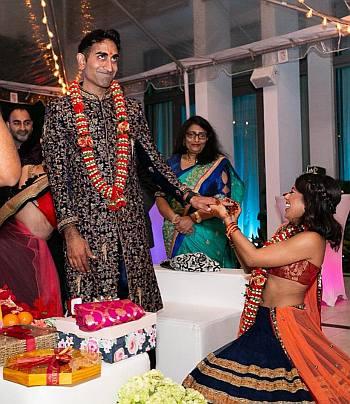 vishal parvani engagement party