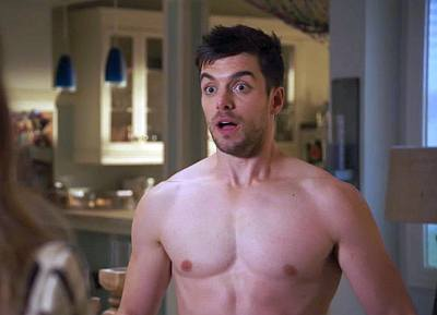 Dan Jeannotte shirtless body - the bold type