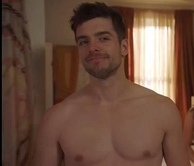 Dan Jeannotte shirtless canadian hunk