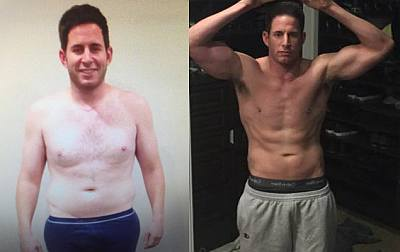 Tarek El Moussa before and after weight loss