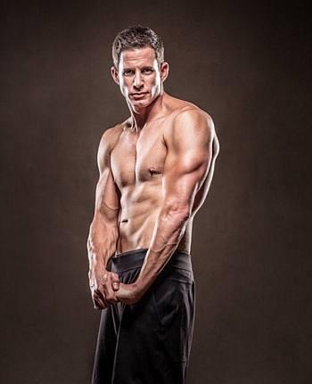 Tarek El Moussa shirtless body