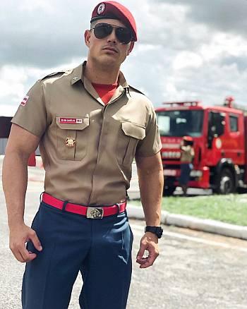 jp gadelha circle brazil - hot men in uniform