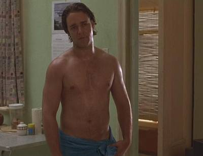 russell crowe young - shirtless - sum of us