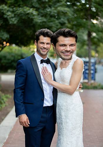 zach justice gay - married at first sight