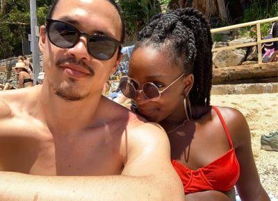 alexander hodge shirtless with girlfriend