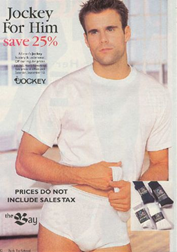 cameron mathison white briefs underwear