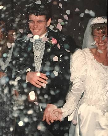 charles esten wedding - wife patty hanson
