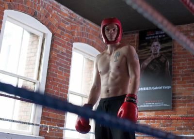 daniel diemer shirtless body boxing movie