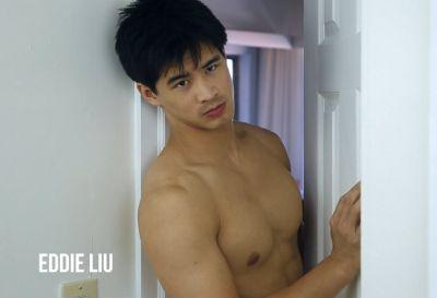 eddie liu body - shirtless - the waiting room2