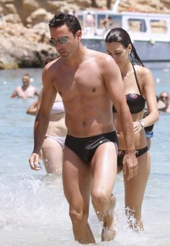 football speedo hunks Xavier Hernández former spanish player now manager of al sadd
