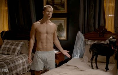 glen powell underwear - classic white boxer shorts