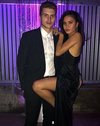 jake austin walker girlfriend alexiis arnold