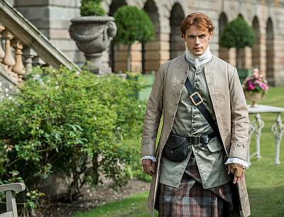 jamie fraser kilt - what you can do - diplomacy talks in france