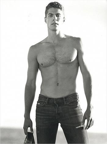 joe slaughter shirtless in jeans - smoking hot