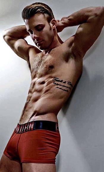 paulie calafiore underwear model
