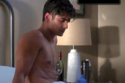 rushi kota dr vic roy shirtless in greys anatomy