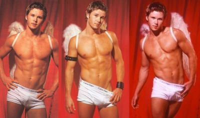 ryan kwanten underwear with angel wings - dna magazine