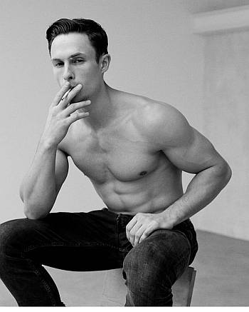 Arnas Fedaravicius smoking hot model