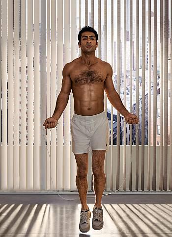 Kumail Nanjiani underwear - boxer shorts