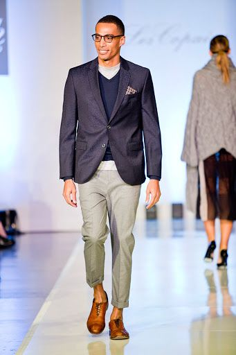 Mahdi Cocci model on runway
