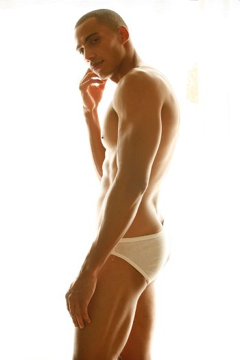 Mahdi Cocci underwear briefs - model