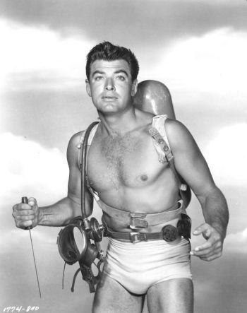 classic mens underwear - john bromfield in revenge of the creature