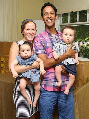 danny pudi family - wife and kids