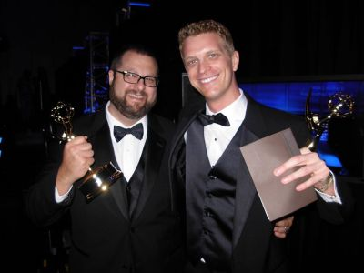 garrett haake emmy awards - hot media men
