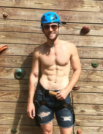 glen north shirtless gay boyfriend - camp getaway