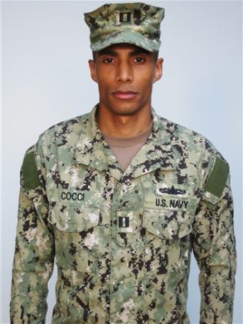 hot men in navy uniform - Mahdi Cocci