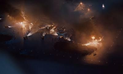 into the night sun death and solar flare destruction - netfflix