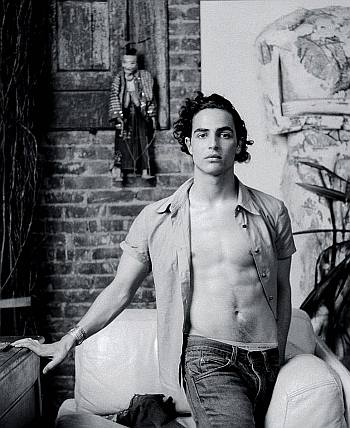 zac posen shirtless body abs2