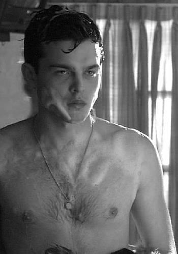 Alden Ehrenreich shirtless body