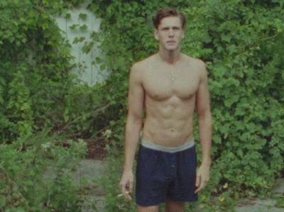 Harris Dickinson beach rats underwear boxer shorts