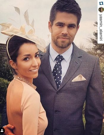 Jack Derges wedding to wife yasmin alamiri