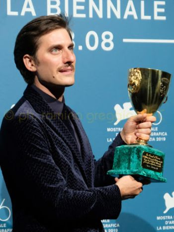 Luca Marinelli acting award volpi cup