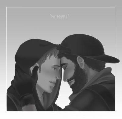 Luca Marinelli gay - joenicky fan art2