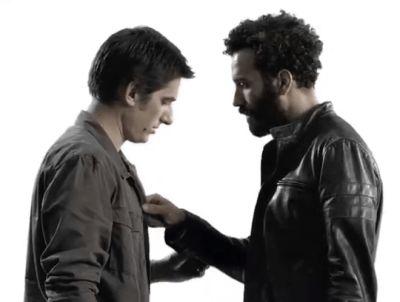 Luca Marinelli gay marwan kenzari