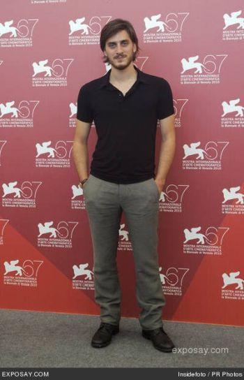Luca Marinelli hot shirt 2010 venice film festival