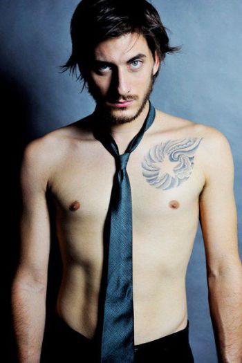 Luca Marinelli shirtless body