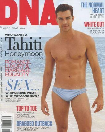 Peter Porte speedo swimsuit - dna magazine