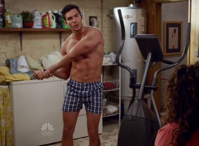 Peter Porte underwear in telenovela