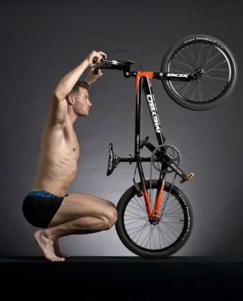 Raymon van der Biezen cyclist underwear by calvin klein