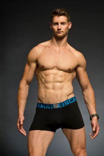 Raymon van der Biezen underwear boxer briefs